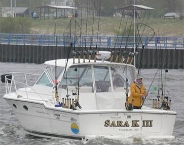 Sara k sport fishing charters we guarantee fish for Traverse city fishing charters